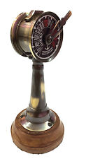 "6"" Antique Brass Ship's Engine Order Telegraph Nautical Collectible Room Decor"