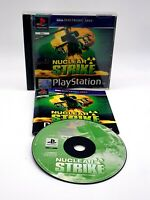 Sony Playstation Game - NUCLEAR STRIKE PS1 Game - Pal - Tested and Working