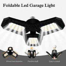 E27 40W 60W 80W LED Garage Light Foldable Deformation Lamp Bulb Indoor Lighting