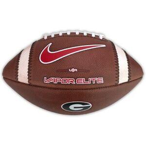 Nike 2021 Vapor Elite Georgia Bulldogs Team Issue College Game Football Ball