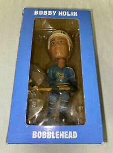 Atlanta Thrashers Bobby Holik Bobblehead Blue land 2005-06 New In Box/ Best Buy