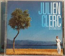 CD JULIEN CLERC - SI J'ETAIS ELLE
