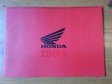 HONDA, Genuine Brochure, Motorcycle Range, 1994