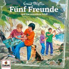 CD * FÜNF FREUNDE - HÖRSPIEL / CD 119 - UND DAS VERSUNKENE SCHIFF # NEU OVP =