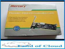 Mercury Firewire PCI IEEE1394 I/O Controller card - FAST & FREE POST