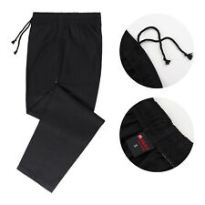 Black Chef Trousers Pants Catering Chef Uniform Uk Chef Trousers Kitchen