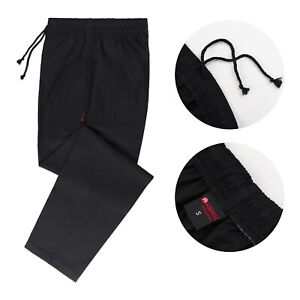 Black Chef Trousers Pants Catering Chef Uniform UK Chef Trousers