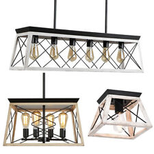 Farmhouse Pendant Light Fixture Kitchen Island Lighting Modern Chandelier Lights