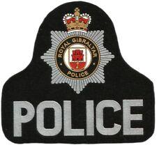 PATCH ROYAL GIBRALTAR POLICE POLICIA DE GIBRALTAR - EB01209