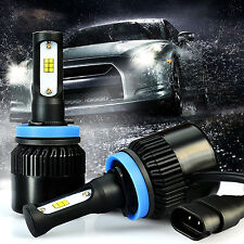 G2 Chips H11 6500K Xenon White LED Headlights Extremely Bright
