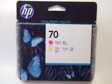 HP 70 DesignJet Printhead Ink Cartridges Magenta / Yellow C9406A - NOV 2022