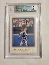 1999 TOPPS GALLERY THE GEM COLLECTION #20  1 OF 1  DEREK JETER  MINT 9