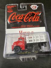 1/64 M2 COCA-COLA 1957 DODGE FARGO COE STAKE BED RED AND WHITE