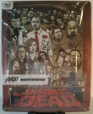 Shaun of the Dead Blu-ray Target Exclusive Mondo X Steelbook #007 with Slipcover