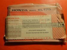 NOS OEM FACTORY OWNERS MANUAL HONDA 1974 XL175 K1