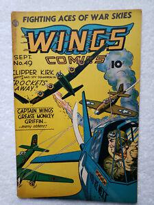 Wings Comics #48 (Sep. 1944, Fiction House) [FR 1.0]
