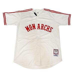Kansas City Monarchs Jersey Medium Negro Leagues Salvador Perez Royals