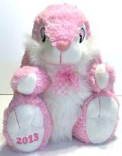 Dan Dee Pink Plush Bunny Rabbit 2013 Easter Collectors Choice Stuffed Animal