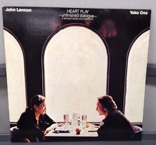 John Lennon/Yoko Ono Heart Play Unfinished Dialouge 1983 Polydor Vinyl Is Mint