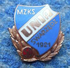 UNIA SWARZEDZ 50 ANNIVERSARY/1921-1971/ POLAND FOOTBALL BASKETBALL NUMBERED PIN
