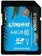 Kingston Profesional (64gb) UHS-I SDHC/SDXC Flash Card (Class 10)