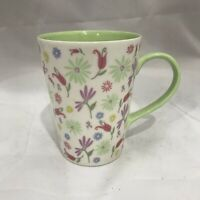 2006 Starbucks Spring Time Floral 13 oz Coffee Cup Mug Flowers Garden Mother's