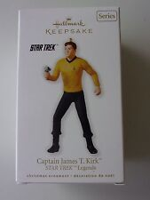 Hallmark Captain James T. Kirk Star Trek Legends Ornament dated 2010 Series NIB