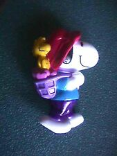 Peanuts Snoopy & Woodstock with Basket of Hearts Figurine