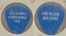 HEART - OLD ANN WILSON 1996 OLYMPICS CANCELLED SHOW GUITAR PICK