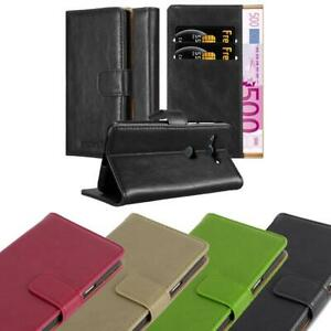 Case for Sony Xperia XZ2 Compact Phone Cover Luxury Protective Wallet Book