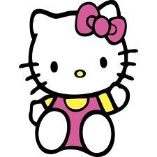Pegatina Autoadhesiva Niño Hello Kitty E055