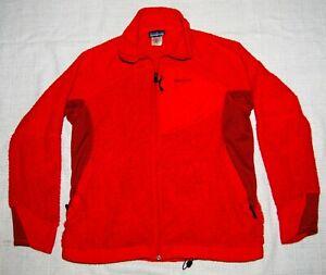 Patagonia R3 Men's Large Full Zip Fleece Jacket Red Orange