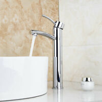 Bathroom Sink Brass Chrome Mixer Tap Toilet  Basin Vessel Sink Swivel Faucet