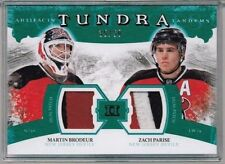11/12 Upper Deck Artifacts Martin Brodeur Zach Parise Dual Patch #'ed 35/50