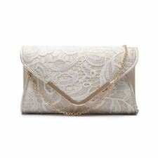 Womens Lace Cltuch Bag Party Long Envelope Evening Handbag Wending Prom Classic