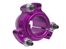 """Purple 1"""" Go Kart Drift Trike Live Axle Aluminum Rear Wheel Hubs w/Hardware"""