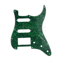 Guitar Pickguard Scratch Plate For Fender Strat Parts Green Pearl 3 Ply HSS