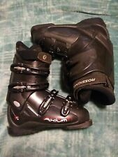 Rossignol Axium Cockpit Black Downhill Ski Boots Size men's 7 / 7.5 Us 295mm