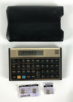 Hewlett Packard HP 12C Programmable Financial Calculator Case Vintage - 985 USA
