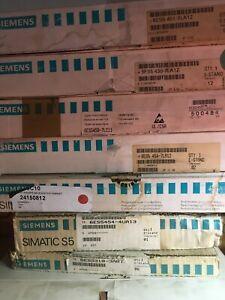 Siemens Simatic S5 Modules (various)