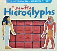 Metropolitan Museum of Art Fun With Hieroglyphs Ancient Egypt Book Rubber Stamps