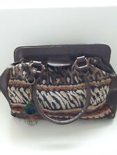Brown carpet style large primark hand bag
