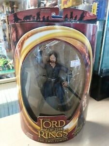 The Lord of the Rings The Two Towers Helm's Deep Aragorn 2002 ToyBiz New