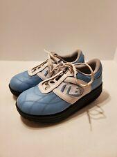 W3 Mbt Blue Lifestyle 02 Exercise Fitness Walking Toning Running Shoes 6.5/8.5