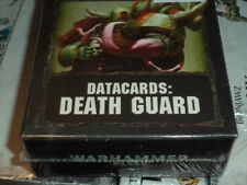Datacards Death Guard - Warhammer 40k 40,000 Data Cards New!