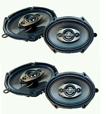 Pulsar Full Range 4 Way Coaxial Car Audio 5x7 by 6x8