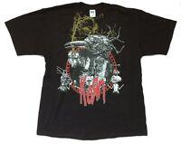 Korn Crow Circle Tour 2007 Black T Shirt New Official Untitled Album