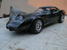 1978 CHEVY CORVETTE 1/18 ut models L88 black super detailed LOOSE DISPLAY PIECE