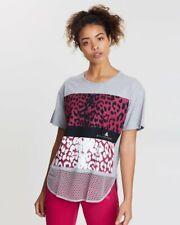 NWT $65 Stella McCartney Adidas Collaboration Leopard Tee Shirt Sz S/M