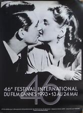 CANNES 1993 FILM FESTIVAL - HITCHCOCK / GRANT / NOTORIOUS - ORIGINAL POSTER